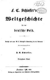 F. C. Schlosser's Weltgeschichte für das Deutsche Volk: Neuere Geschichte