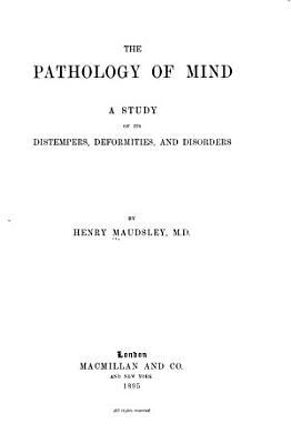 The Pathology of Mind PDF