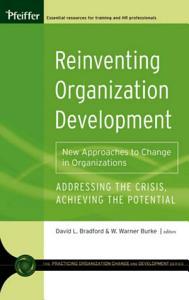 Reinventing Organization Development Book