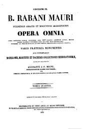 Patrologiae latina cursus completus ... series secunda: Volume 110