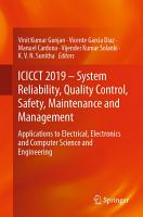 ICICCT 2019     System Reliability  Quality Control  Safety  Maintenance and Management PDF
