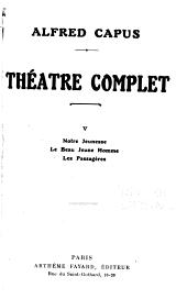 Théâtre complet ...