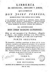 Libreria de Escribanos Abogados y Jueces, 5