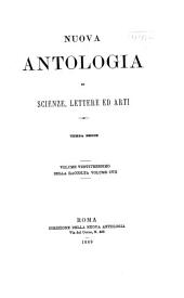 Nuova antologia: Volume 107