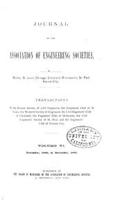 Journal of the Association of Engineering Societies: Volume 6