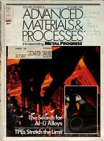 Advanced Materials   Processes Incorporating Metal Progress PDF