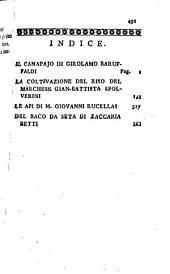 Raccolta di poemi georgici...