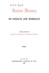 Seaside Musings on Sundays and Weekdays