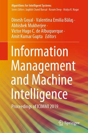Information Management and Machine Intelligence