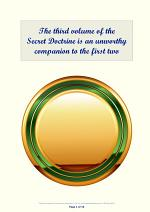 The third volume of the Secret Doctrine is an unworthy companion to the first two