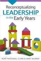 Reconceptualizing Leadership In The Early Years PDF