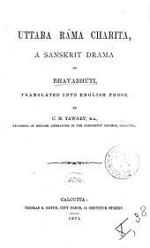 Uttara Ráma Charita: A Sanskrit Drama