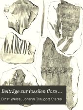 Beiträge zur fossilen flora ...