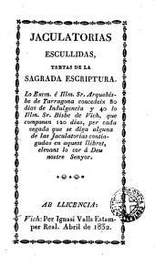 Jaculatorias escullidas: tretas de la Sagrada Escriptura