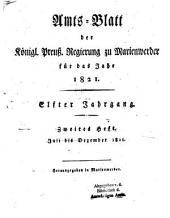 Amtsblatt für den Regierungsbezirk Marienwerder: Band 11