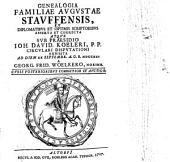 Genealogia familiae augustae Stauffensis