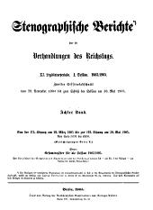Stenographische Berichte über die Verhandlungen des Deutschen Reichstages: Band 204