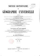 Nouveau dictionnaire de géographie universelle ...