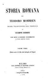 Storia romana: Volume 3