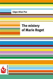 The mistery of Marie Roget (low cost). Limited edition