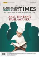 Majalah Madrasatul Qur an Times Edisi 4  PDF