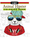 Animal Hipster Coloring Book