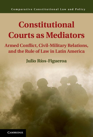 Constitutional Courts as Mediators PDF