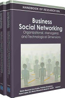 Handbook of Research on Business Social Networking