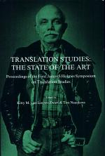 Translation Studies - the State of the Art