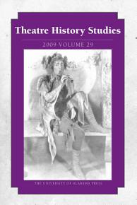 Theatre History Studies 2009 PDF