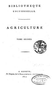 Bibliothèque universelle des sciences, belles-lettres et arts: Volume2