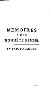 Mémoires D'Une Honnête Femme: 1