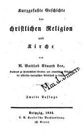 Kurzgefaßte Geschichte der christlichen Religion und Kirche