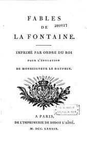 Fables de La Fontaine: Volume1