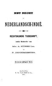 Indisch tijdschrift van het recht: orgaan der Nederlandsch-Indische juristen-vereeniging, Volume 57