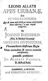 Apes urbanae et Johannis Imperialis Museum historicum
