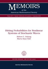 Hitting Probabilities for Nonlinear Systems of Stochastic Waves
