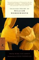 Selected Poetry of William Wordsworth PDF