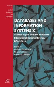 Databases and Information Systems X PDF
