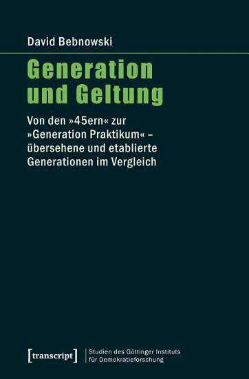 Generation und Geltung PDF
