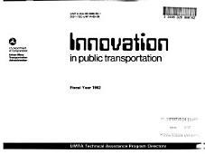 Innovation In Public Transportation
