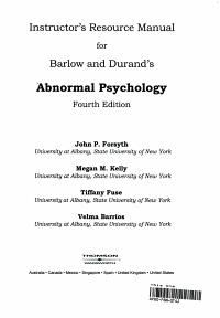 Irm Abnormal Psychology
