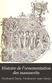 Histoire de l'ornementation des manuscrits
