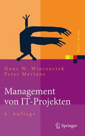 Management von IT-Projekten: Von der Planung zur Realisierung, Ausgabe 4