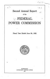 Annual Report - Federal Power Commission: Volume 2