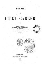 Opere scelte di Luigi Carrer: Poesie, Volume 1