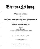 Bienen-Zeitung: Organ des Vereins der deutschen, österreichischen und ungarischen Bienenwirte..., Band 43