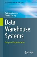 Data Warehouse Systems PDF