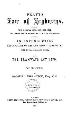 Pratt s Law of Highways PDF