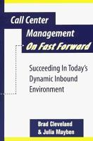 Call Center Management on Fast Forward PDF